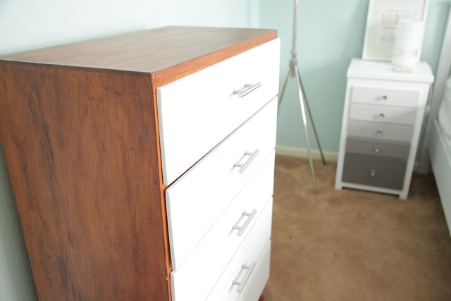 After - Painted Dresser + New Hardware