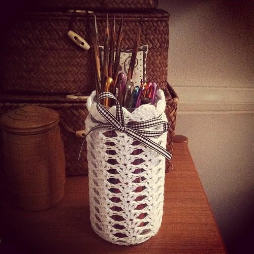 #yarnpadc catch up, Day 28: Needles