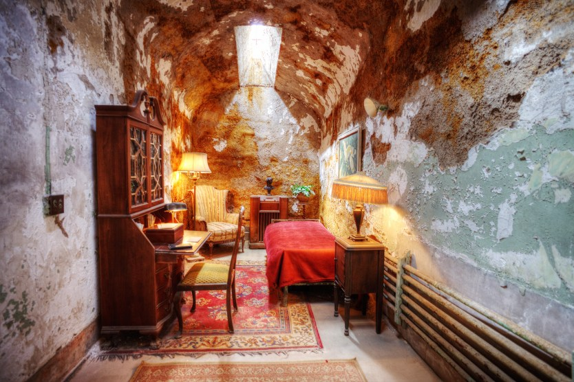 Al Capone's cell, Eastern State Penitentiary.