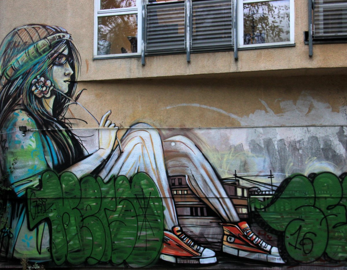 Berlin street art can be found at every corner of the city