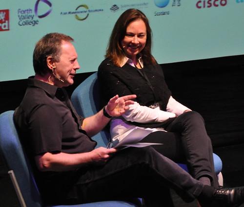 Barry Forshaw and Yrsa Sigurðardóttir