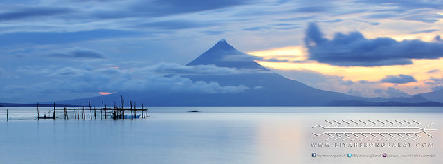 Mount Mayon viewed from Bacon Sorsogon