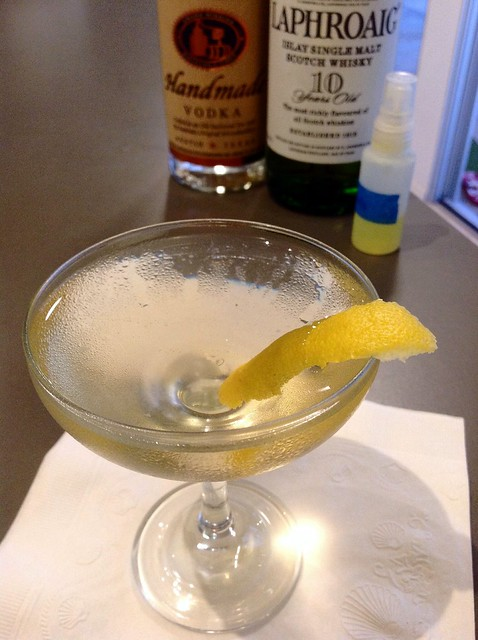 The Dreamy Dorini Smoking Martini (Audrey Saunders)