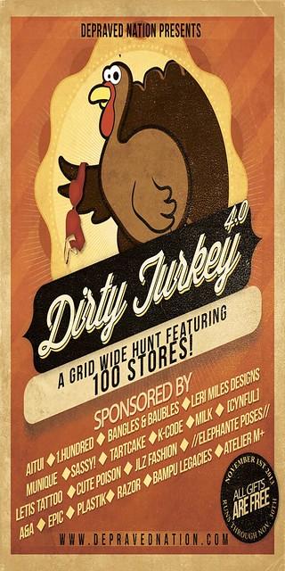 Depraved-Nation Dirty-Turkey-Hunt-4.0-Flyer