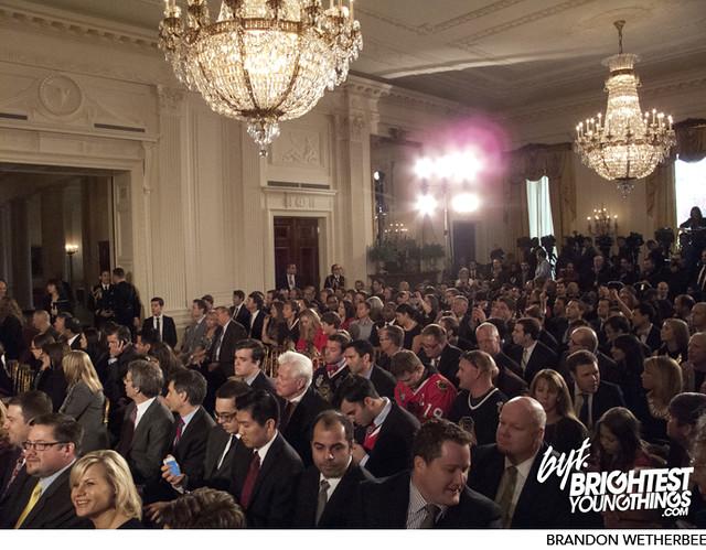 Chicago Blackhawks Visit the White House and President Obama | 11/04/13