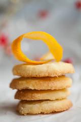 Orangen Sablés