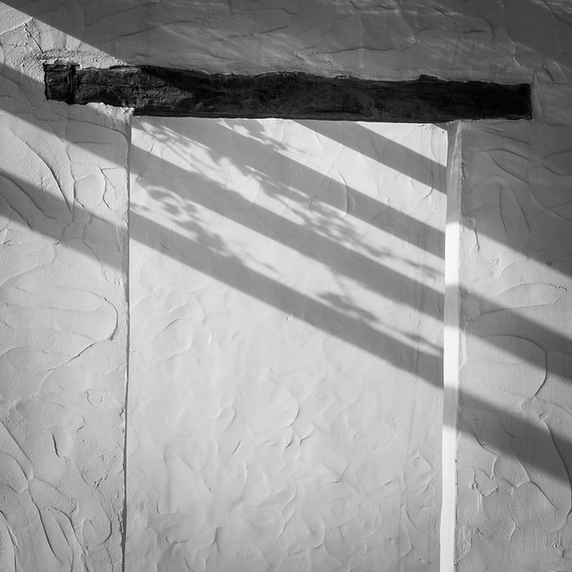 Shadows through the opening