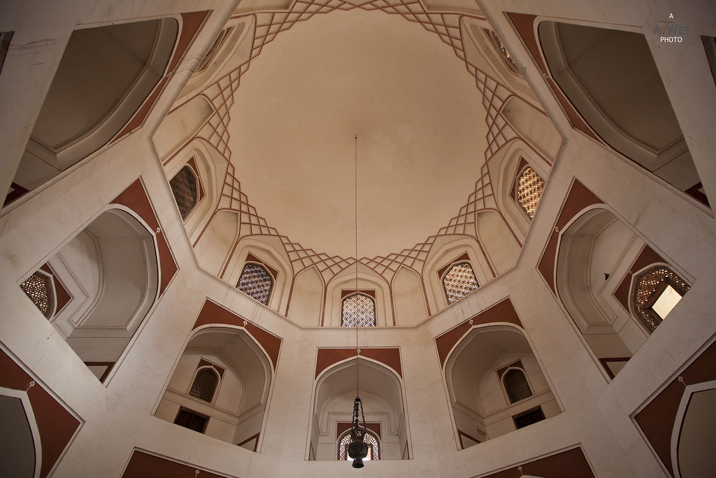 Central Dome above the Tomb