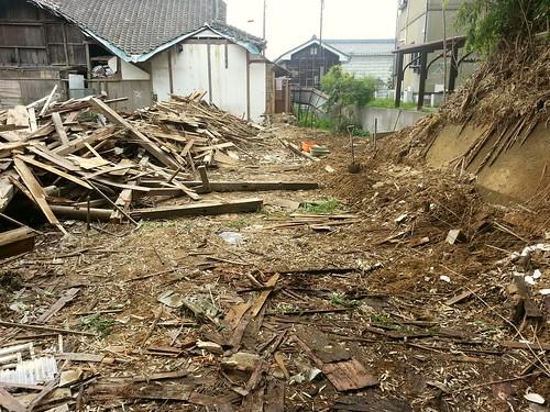 南相馬小高区で小屋解体のお手伝い(ボランティアチーム援人)