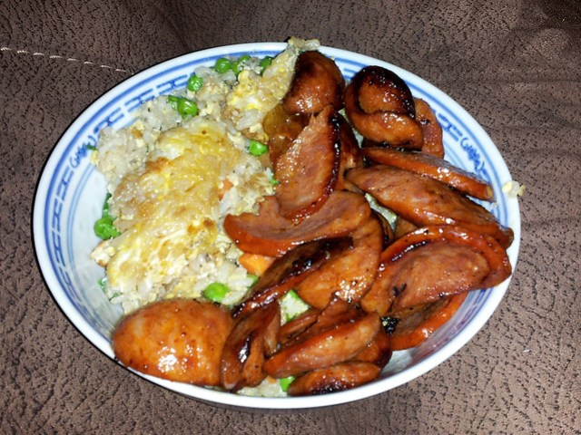 Portuguese Sausage / Fried Rice