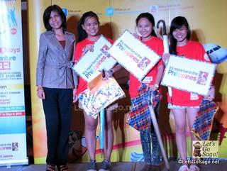 Team Lemixian winning the 1st 'Fun' Challenge