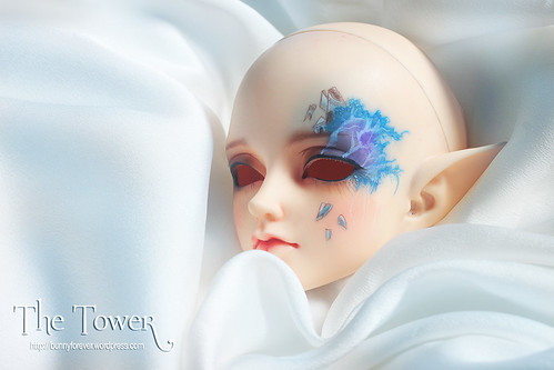 The Tower, ball jointed doll, bjd doll, face-up, face up