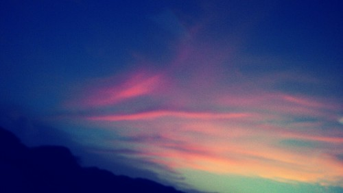 sky, twilight