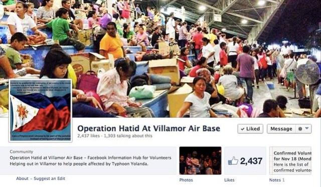 Operation Hatid At Villamor Air Base