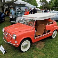 Fiat 600 Jolly at the Greenwich Concours