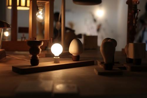 台北四四南村「木頭亮起來」木燈具創作聯展+木質創作品牌展(9 ys)