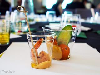 Shrimp and Hummus