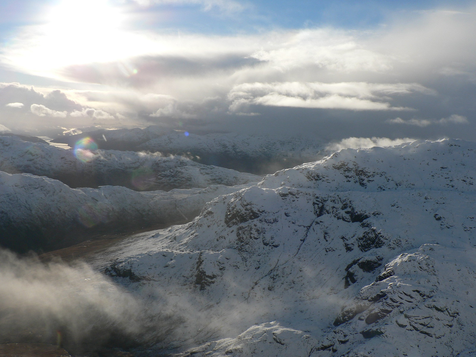 Great views when the clouds cleared!