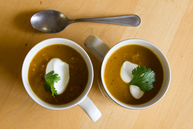 Indian-Spiced Squash Soup