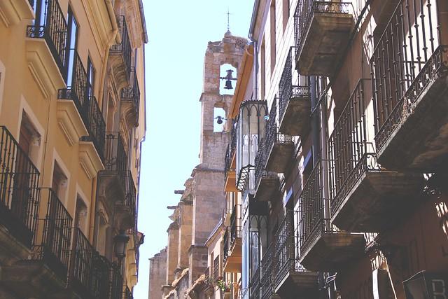 ciudad rodrigo back narrow streets