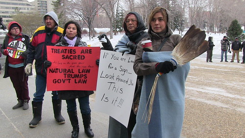 Treaty 6-8 w/Idle No More: Peaceful Solidarity Rally with Indigenous People & Canadians