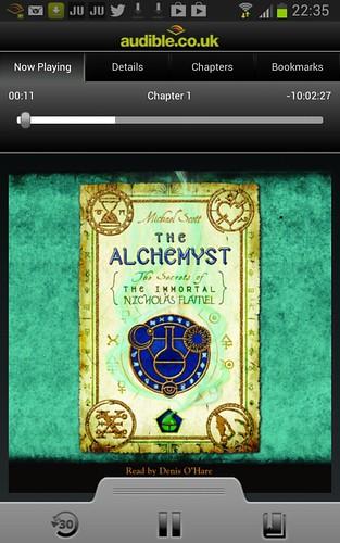 Nicholas Flamel Book 1: THE ALCHEMYST audiobook