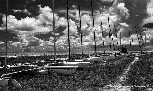 Sailboats at Siesta