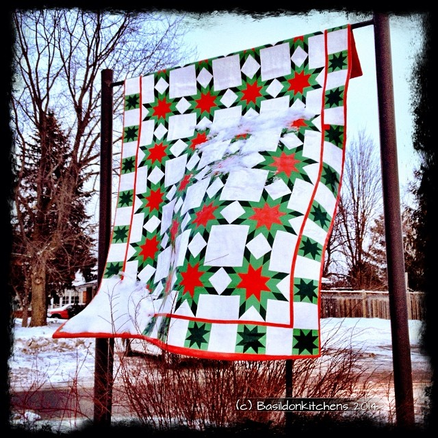 "23/1/2014 - artful {Prince Edward County is very ""artful"". This sculptured quilt can be found in Bloomfield, on the ""Arts Trail""} #photoaday #artful #art #artists #bloomfield #princeedwardcounty #quilt #sculpture"