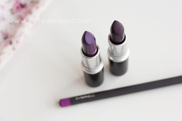 mac pure heroine instigator lipstick