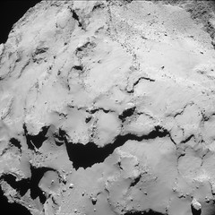 Comet from 18.7 km – NavCam