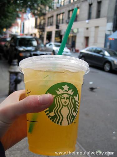 Valencia Orange Starbucks Refreshers \Prescription for dehydration