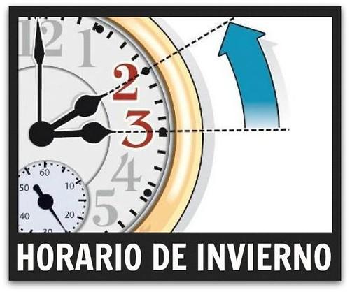 Horario de Invierno 2014