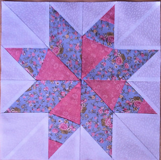 Paper Piecing Vintage 2014 Block of the Month January Kings Crow