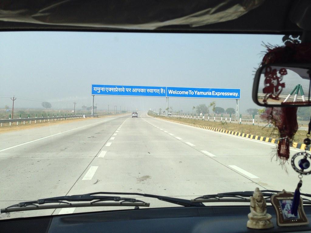 Welcome to Yamuna Expressway