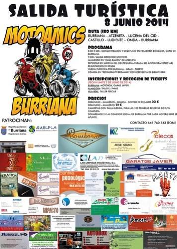 Salida Turística Motoamics - Burriana