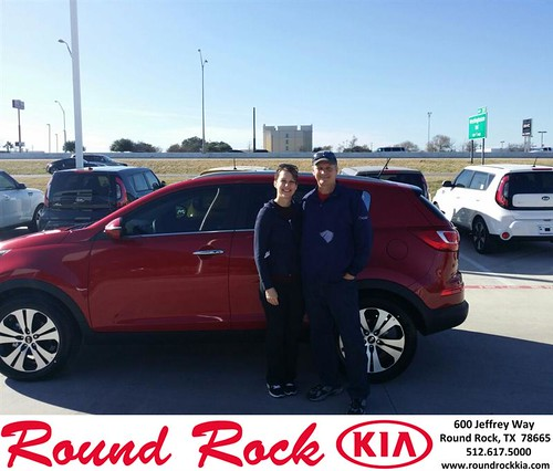 Thank you to David Gerig on your new 2013 #Kia #Sportage from Roberto Nieto and everyone at Round Rock Kia! #NewCarSmell by RoundRockKia