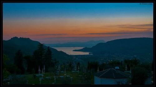 Blick von Costermano über Garda und den See