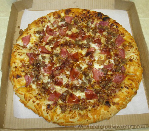 Pizza Hut Blake's Smokehouse BBQ Pizza