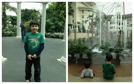 Shug and Shugie at the Opryland Hotel