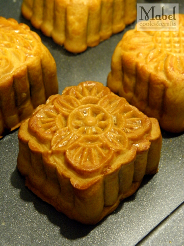 Mooncake Galore: The final product