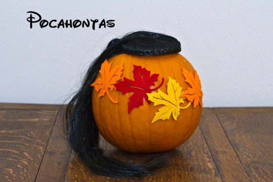 Pocahontas pumpkin