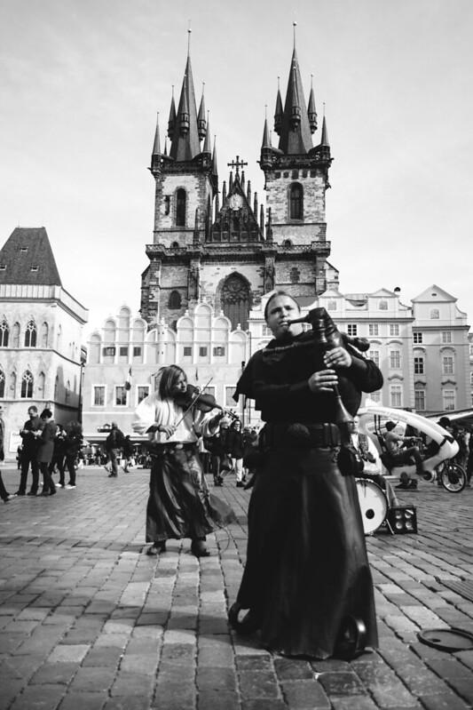 Música medieval en Praga.