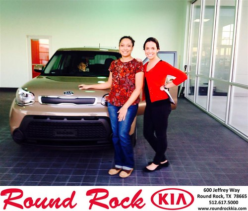 Thank you to Mirijam Wimberly on your new 2014 #Kia #Soul from Andi Wilson and everyone at Round Rock Kia! #NewCar by RoundRockKia