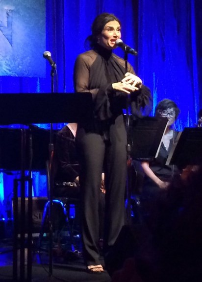 "Idina Menzel sings ""Let It Go"" from Disney's Frozen Live"