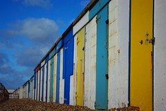 20131029-08_After October Storms _ Beach Huts - Milford on Sea