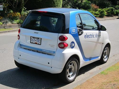 Smart EV rear