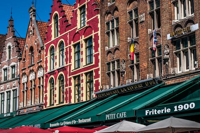 Bruges Markt Square Restaurants