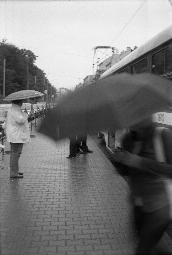 Smena 8M - New Scan - Tram Stop in Rainy Day 2