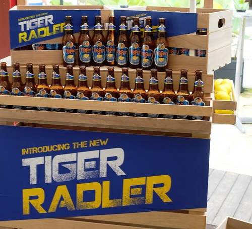 Tiger Radler branding