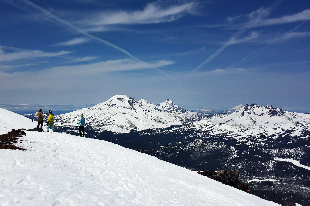 Skiing Mount Bachelor